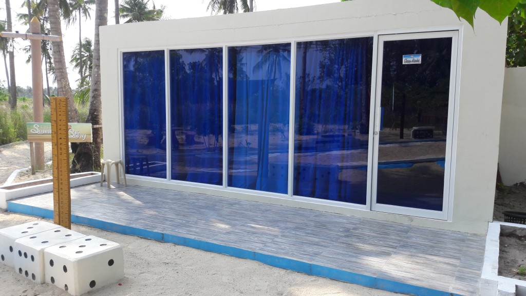Cagbalete island glass house